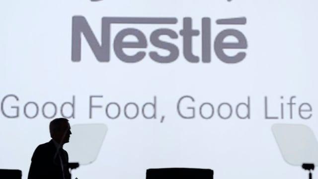 Plakat von Nestlé