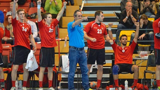 Können Nati-Coach Rolf Brack und seine Spieler in der Barrage jubeln?