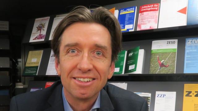 Jean-Christophe Geiser vom Bundesamt für Justiz.
