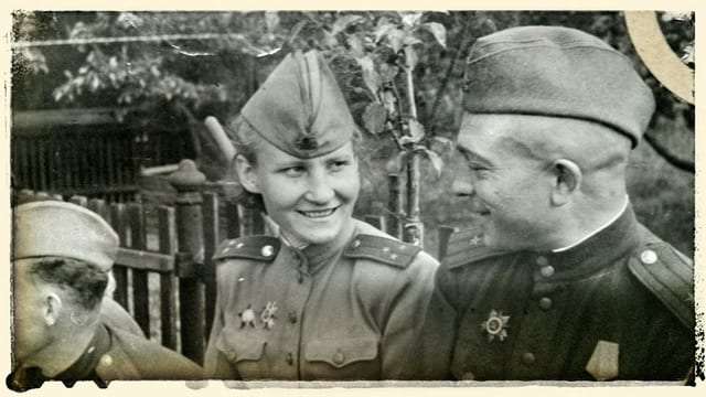 Ein Bild von Zoja Vitaljewna Maschtakova in Uniform.
