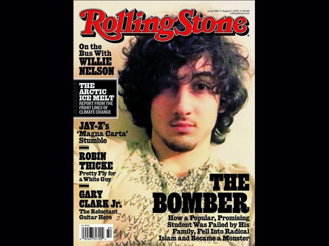 Das Titelbild des Rolling-Stone-Magazins war Grund dafür, dass Polizei-Fotograf Sean Murphy seine Bilder veröffentlichte.