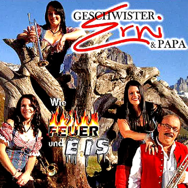 «Feuer und Eis» sind Gegensätze, die sich normalerweise nicht anfreunden können. Die Geschwister Erni und Papa vereinen sie dennoch in ihrem neuen Album.