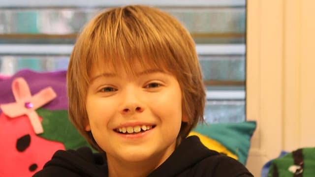 Der 10jährige Thomas aus Genf.