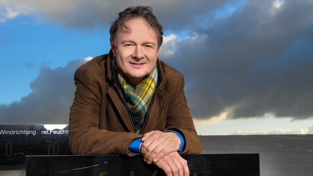 Meteorolog SRF Thomas Bucheli