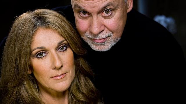 Celine Dion und Ehemann Rene.