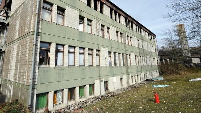 Il center transitoric per requirents d'asil a Kappelen duai daventar in center federal.
