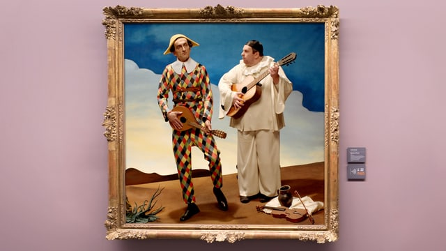 Video «Bilder allein zuhaus: Harlekin und Pierrot (5/30)» abspielen