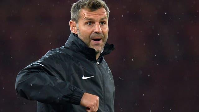 Aarau Trainer Sven Christ