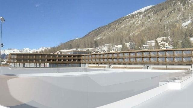 Visualisaziun dal hotel Flaz a Puntraschigna.