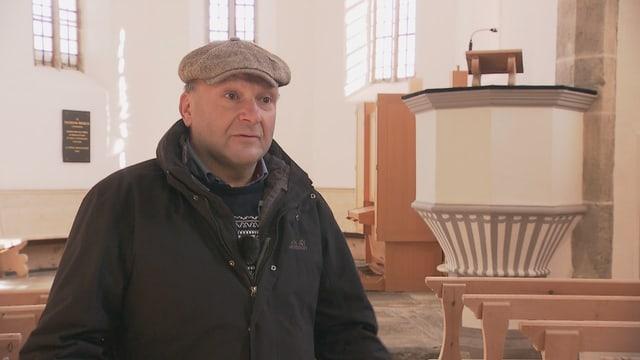 Ulrich Walther, reverenda en baselgia