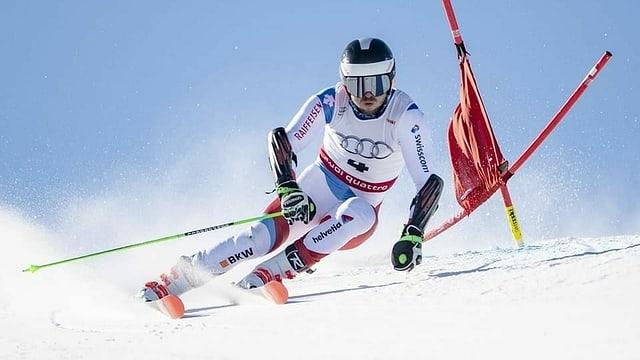 Il skiunz sin pista.