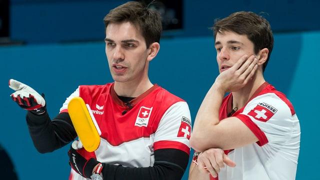 Peter de Cruz e Benoît Schwarz.