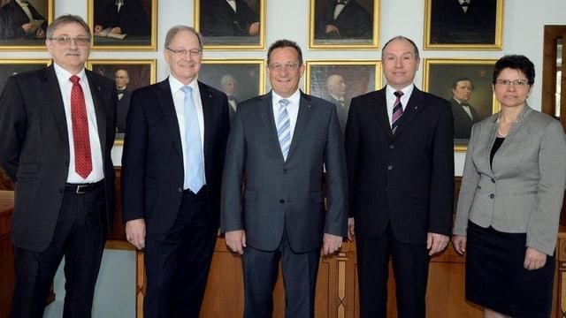 Die Obwaldner Kantonsregierung