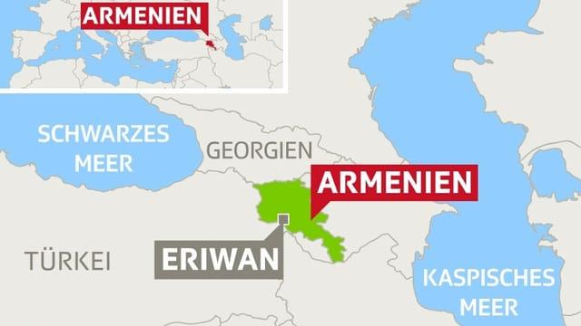 Armenien – kleines Land im Kaukasus