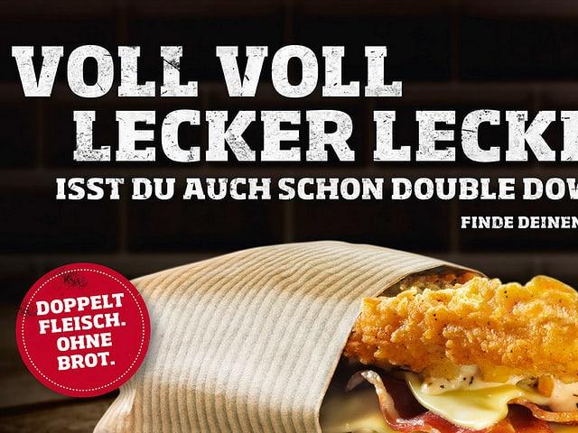 KFC Werbeplakat
