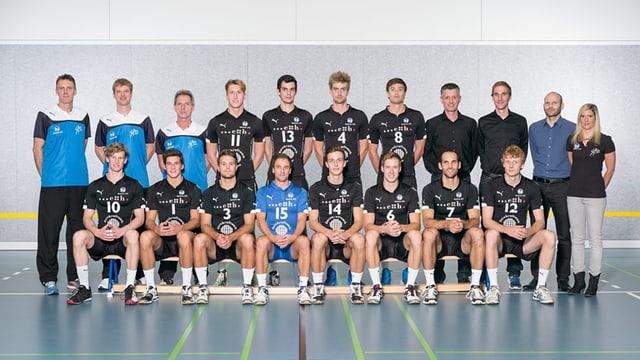 Mannschaftsfoto Nationalliga-A-Team Herren