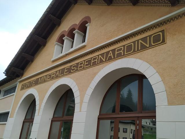 Gebäude der ehemaligen Mineralquelle in San Bernardino