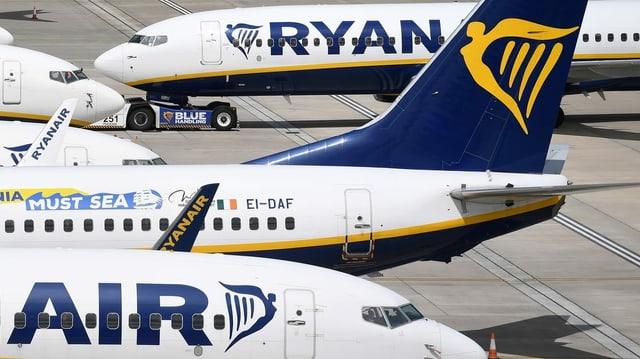 Flugzeuge der Ryanair