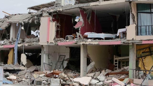 Zerstörtes Gebäude