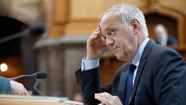 Bundesrat Johann Schneider-Ammann