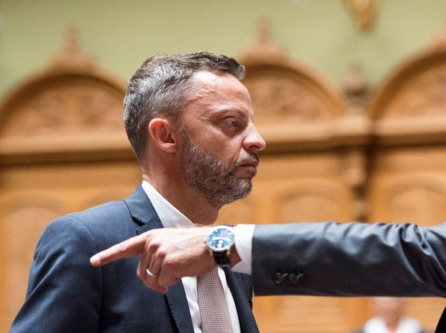 Der Zürcher SVP-Nationalrat Hans-Ueli Vogt