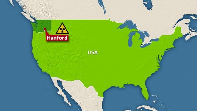 Atomanlage Hanford im US-Bundesstaat Washington