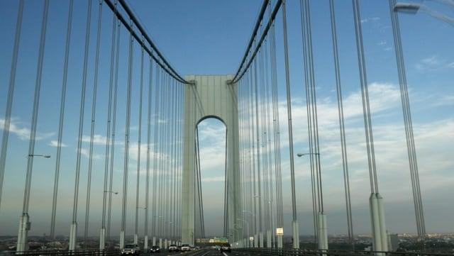 Brücke gegen Himmel fotografiert