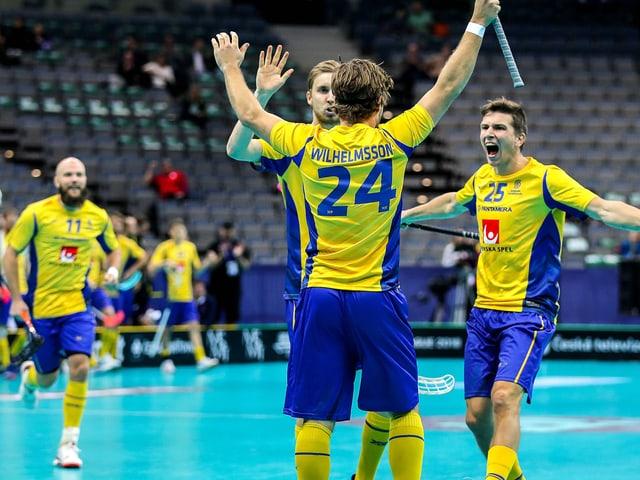 Schwedische Spieler