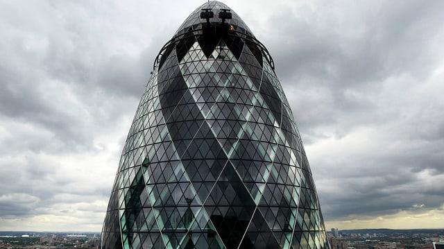 Die Londoner «Gurke».