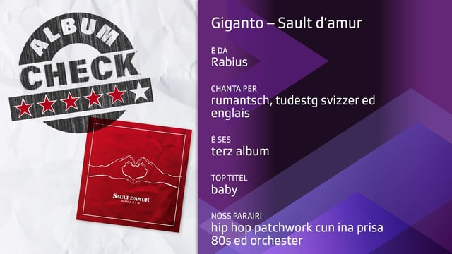 Revista dal album Sault d'amur da Giganto