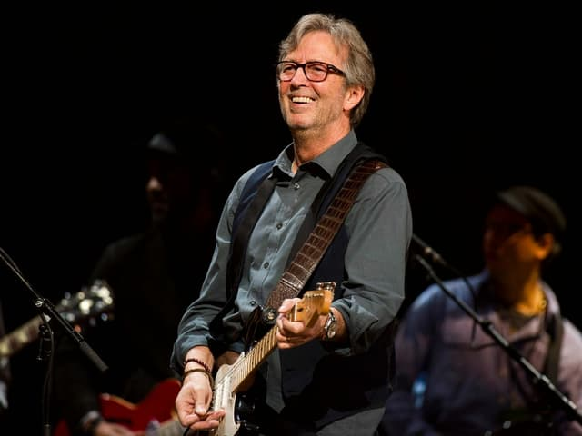 Eric Clapton live a New York