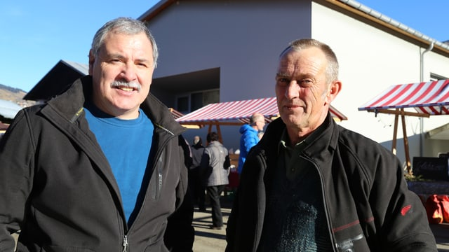 Donat Nay e Anton Derungs
