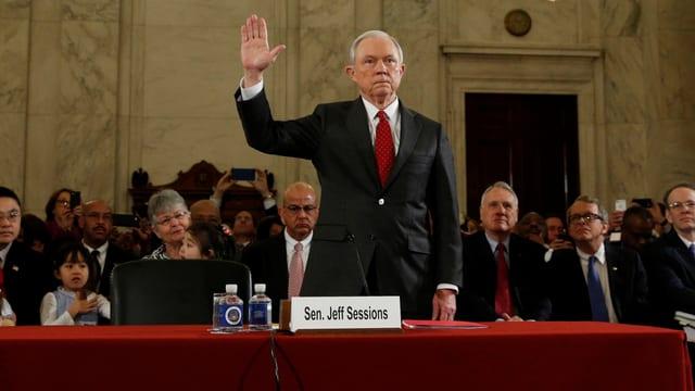 Anhörung im Senat