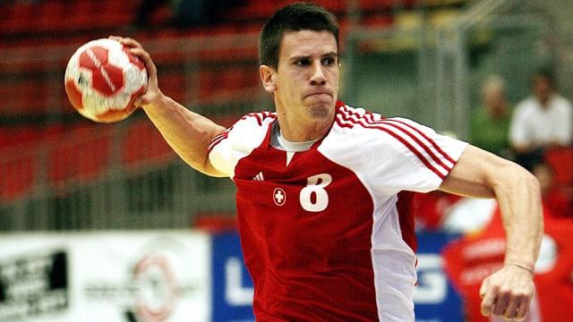 Nati-Captain Andy Schmid trifft am Yellow Cup mit der Schweiz auf Katar, Österreich und Weissrussland.