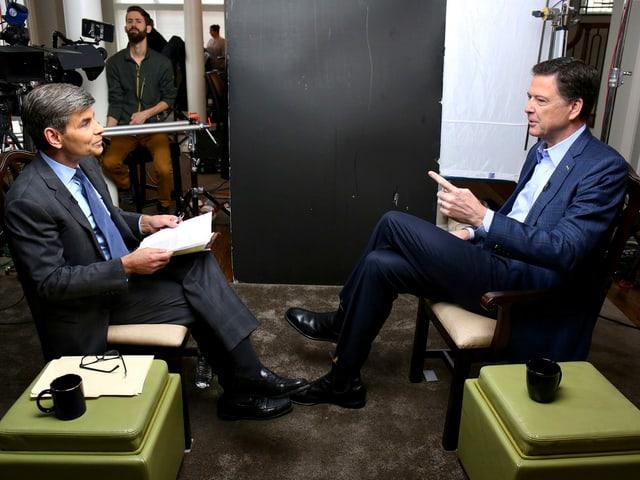 Comey im Interview.