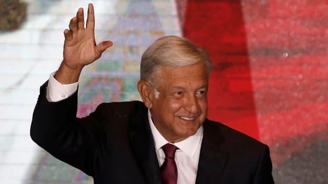Andrés Manuel López Obrador, il nov president dal Mexico.