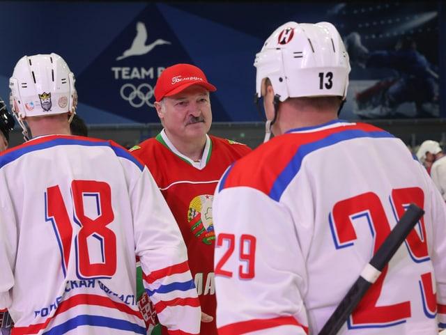 Der belarussische Staatspräsident Alexander Lukaschenko