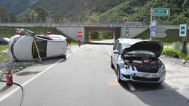 Accident a Roveredo.