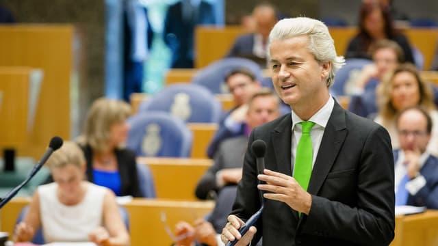 Porträt von Geert Wilders