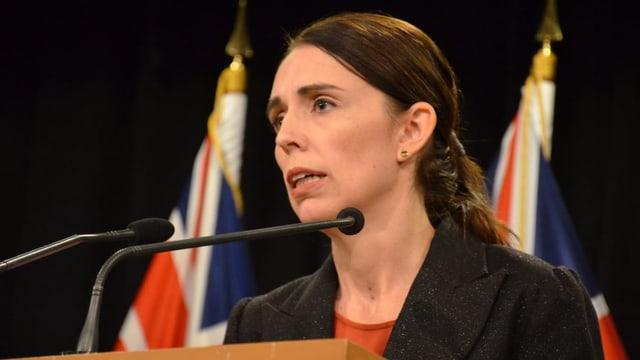 Jacinda Ardern, la primministra da la Nova Zelanda.