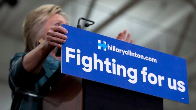 Logo da Hillary Clinton.