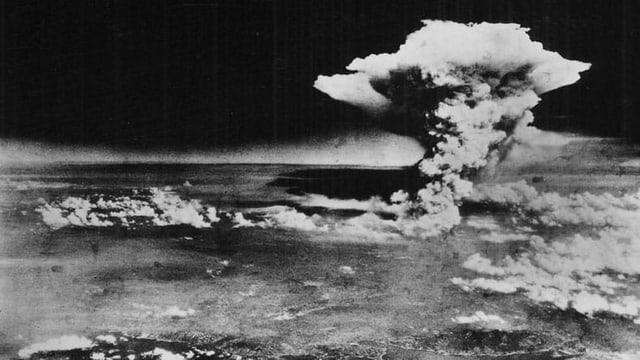 Der Atompilz über Hiroshima.