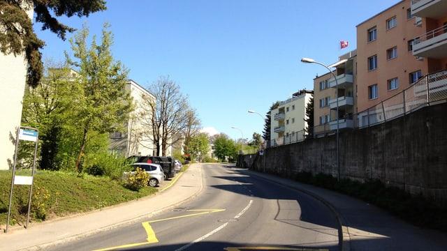 Das Obergütsch-Quartier in Luzern.