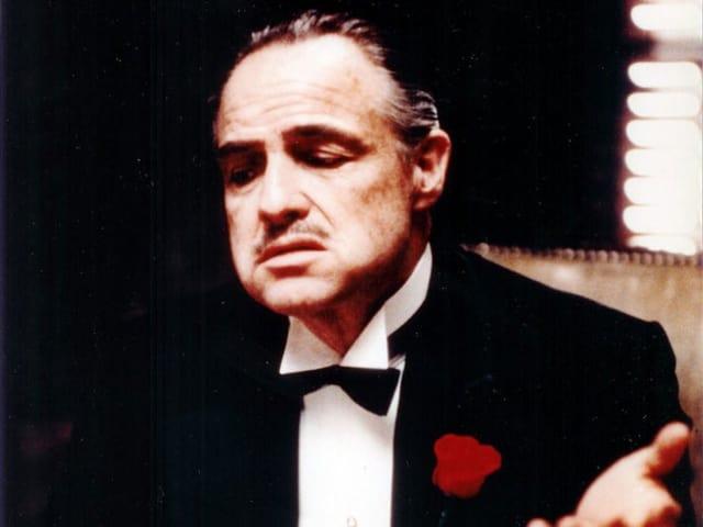 Schauspieler Marlon Brando in der Verfilmung von «Der Pate» aus dem Jahr 1972.