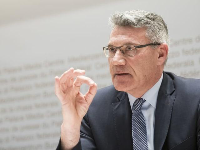Pirmin Schwander sitzt seit 2003 für die SVP im Nationalrat.