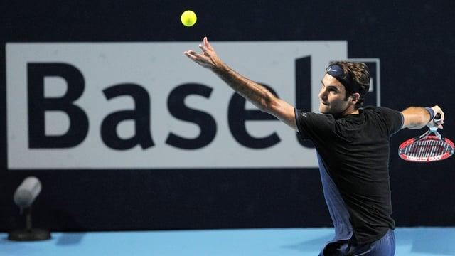 Der Baselbieter macht den Traumfinal gegen Nadal perfekt.