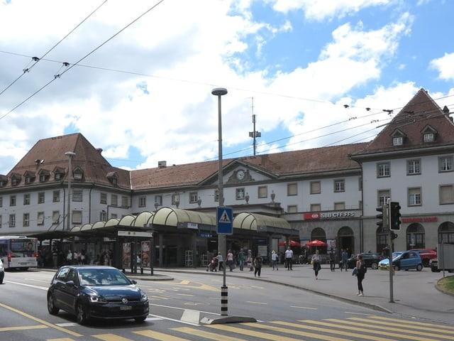 Bahnhofplatz Freiburg
