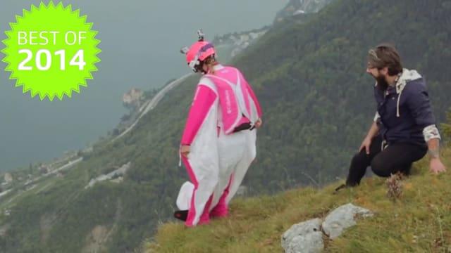 Géraldine Fasnacht lebt ihren Traum vom Fliegen