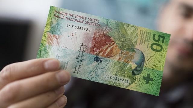 Nota da 50 francs.
