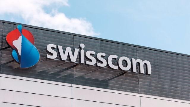 scrittura Swisscom sin chasada.